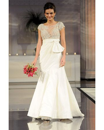 Wedding dresses good for me fall collections fall trumpet wedding