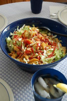 Mexican Frito Salad. YUM!:
