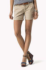 De Korte Broek Van Stretch Katoen is het hoogtepunt van dit seizoen: Uit de nieuwste Tommy Hilfiger korte broeken collectie voor dames. Gratis retourneren.
