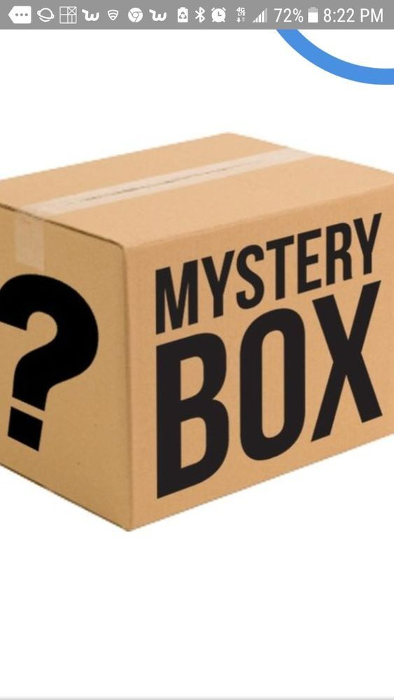 Details About Mysteries Boxes For Women Great Items Purse Clothes Make Up Nail Art Polish Mystery Box Mystery Ebay