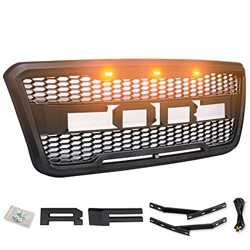 Motorshive Grill For Ford F150 2004 2005 2006 2007 2008 Raptor