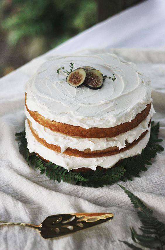 Layered Fig & Spice Cake
