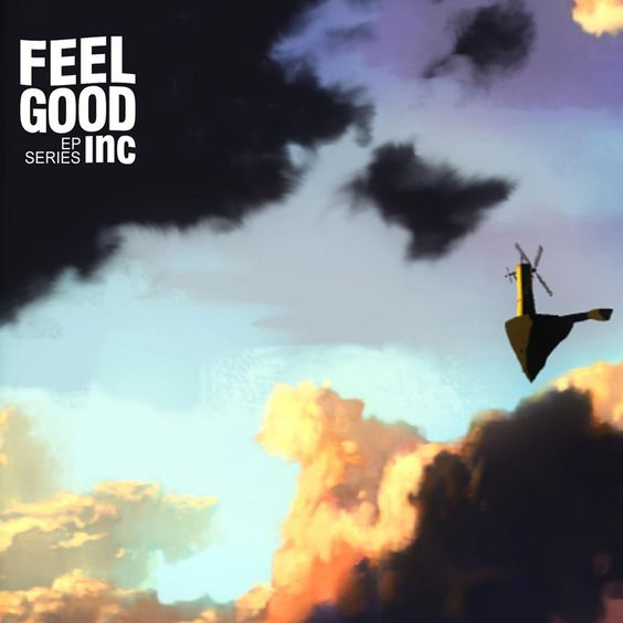 Gorillaz, De La Soul – Feel Good Inc. (single cover art)