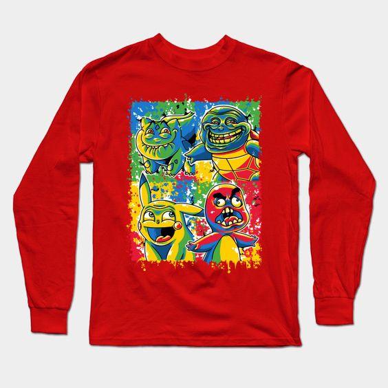 The Poketrolls - I Long Sleeve T-Shirt
