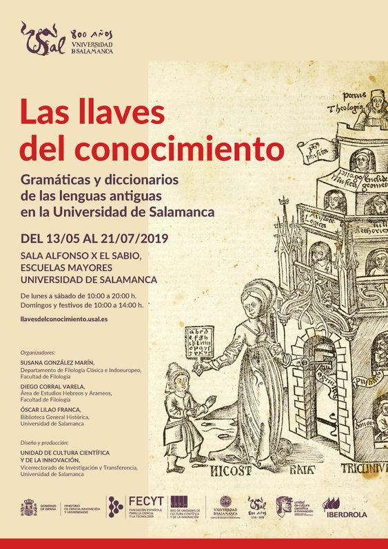 Las llaves del conocimiento. Gramáticas y diccionarios de las lenguas antiguas en la Universidad de Salamanca