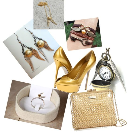 """""""Golden snitch"""" by brownie89 on Polyvore"""