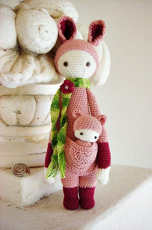 Amigurumi Patterns Lalylala : kangaroo Kira by lella ?? - lalylalas pattern My ...