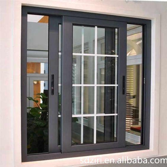 Source 2017 Latest Sliding Aluminium Window Grill Design For House On M Alibaba Com Window Grill Design Modern Modern Window Design Modern Windows