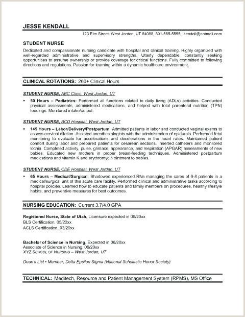 Nurse Practitioner Curriculum Vitae Examples Nursing Resume Template Nursing Resume Examples Student Nurse Resume