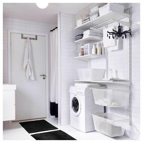 Laundry Room Ideas In 2020 Laundry Room Storage Ikea Laundry Room Laundry Room Storage Shelves