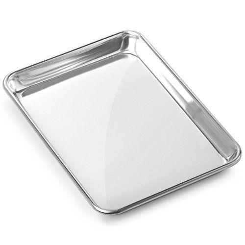 Gridmann 9 X 13 Commercial Grade Aluminium Cookie Sheet Baking Tray Jelly Roll Pan Quarter Sheet 1 Pan Aluminum Pans Aluminum Tray Cookie Sheet