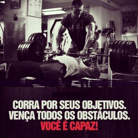 Corra por seus objetivos. vença todos os obstáculos você é capaz!