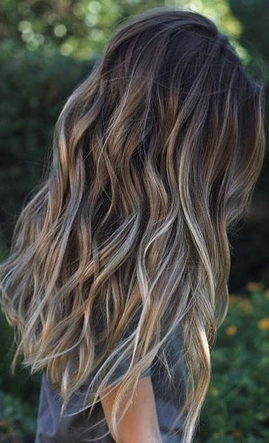 Summer Highlights For Brown Hair 2020 Monica Gallery In 2020 Ombre Hair Color Spring Hair Color Brunette Hair Color