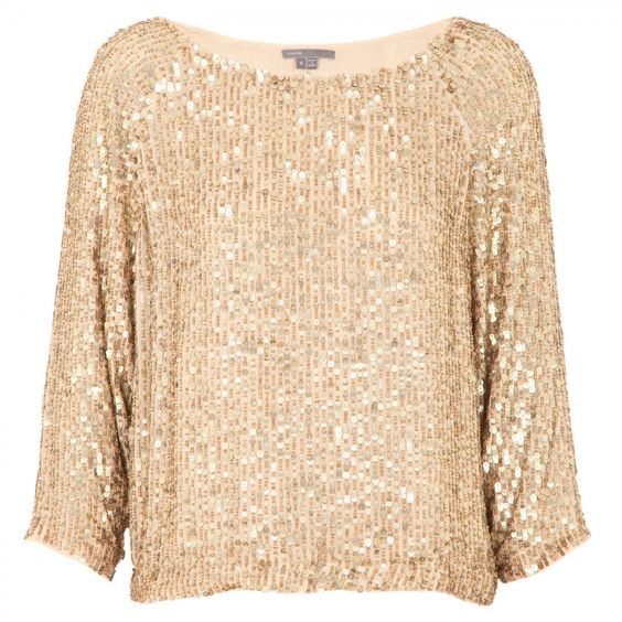 Harvey Nichols gold sequin top | Glitz | Pinterest | Gold sequins ...