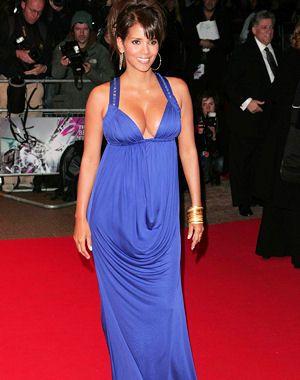 Halle Berry Blue Dress