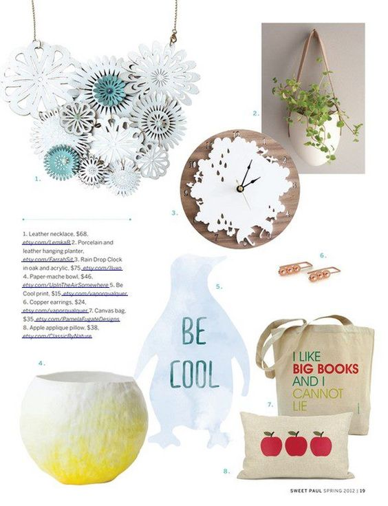 Be cool Print by vapor.qualquer on SPRING ISSUE of Sweet Paul Magazine http://www.sweetpaulmag-digital.com/sweetpaulmag/spring2012#pg19 #sweetpaul
