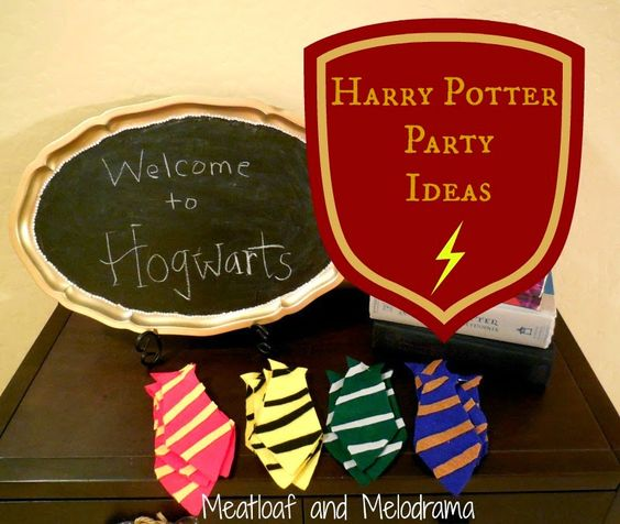 DIY Harry Potter Party - Meatloaf and Melodrama
