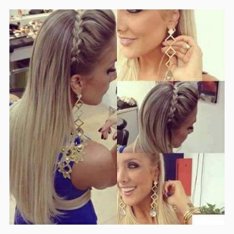 bonito peinado elegante vm