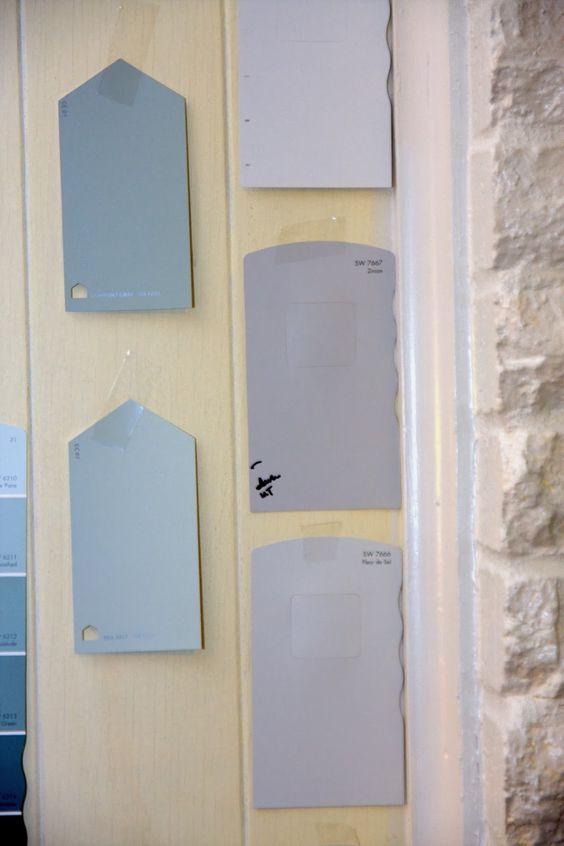 Knitting Needles Sherwin Williams : Choosing gray wall paint colors sherwin williams zircon