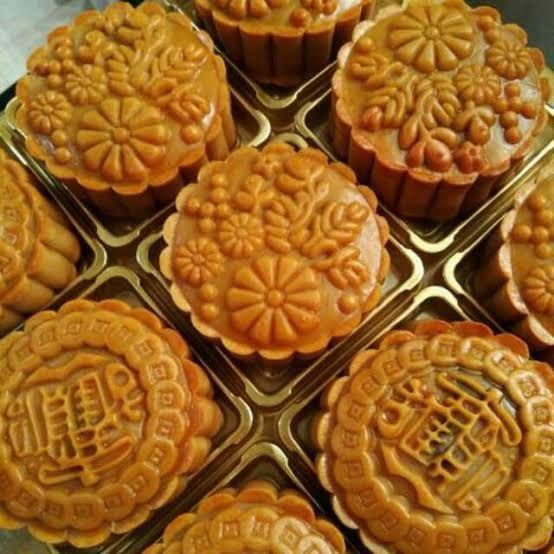 Kue Bulan Cina Mooncake Kue Kacang Merah