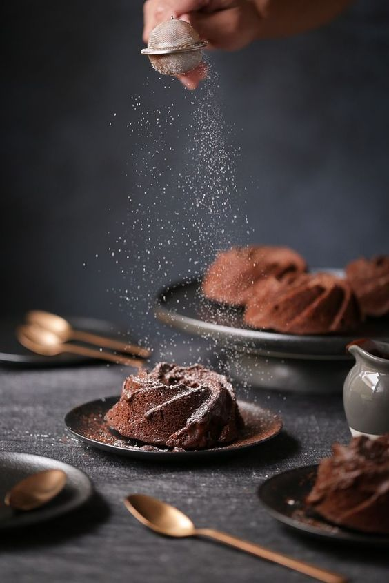 This beautiful food photo is a great example of how food photography can make or break a food blog. A great food styling example, it's definitely an inspirational food photo.