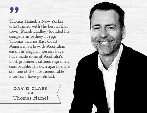 David Clark On Sydney Based Interior Designer Thomas Hamel Read The Profile Temple Webster Blog Blogtempleandwebsterau Davi
