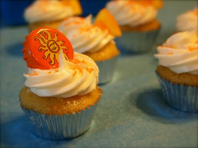 Oberon Cupcakes - made with Bell's Oberon beer.  I've made these twice now and they are sooo yummy!