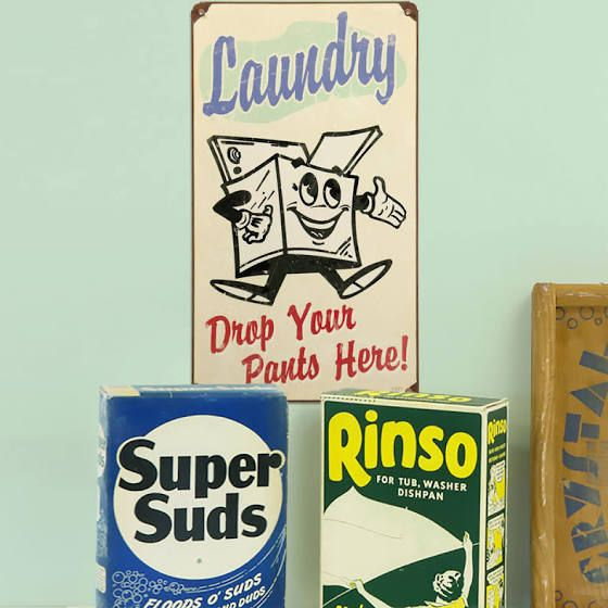 Vintage Kitchen Decor Vintage Laundry Room Laundry Room Signs Laundry Signs