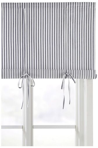 Roman blinds, Blue and white and Swedish style on Pinterest