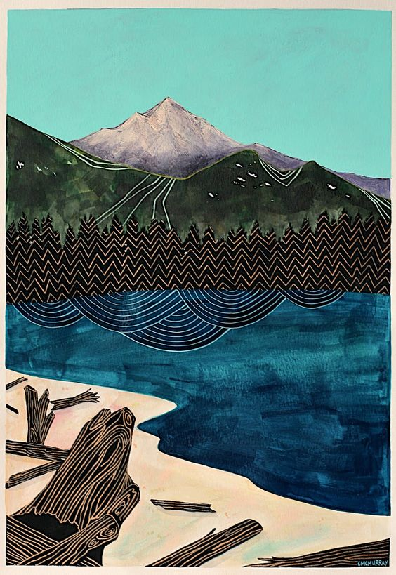 CATHY MCMURRAY  Black Forest, 2012