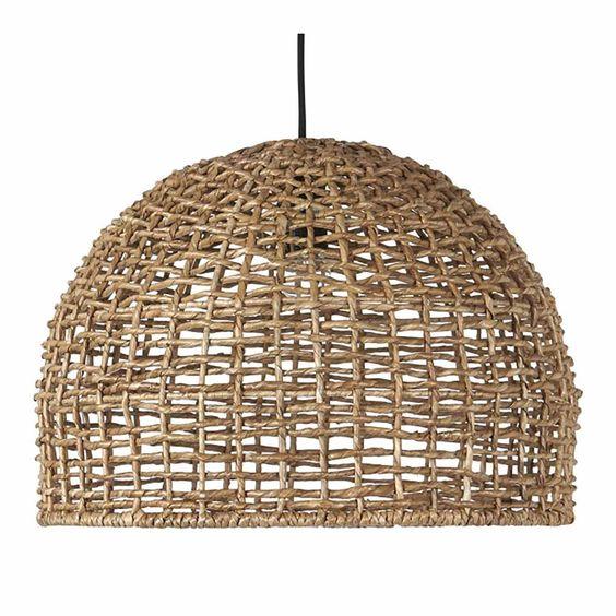 Cebu taklampa - korglampa Rustikaste lampan, för moderna och ...