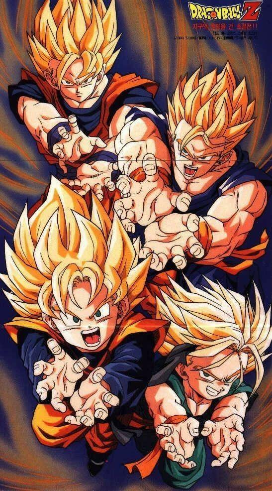 Goku Family Dragon Ball Z Hd Wallpapers Anime Dragon Ball Dragon Ball Super Manga Dragon Ball Z