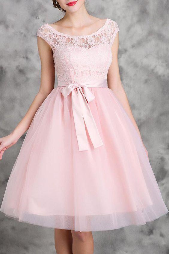Lace Spliced Sleeveless Flare Dress - http://www.musteredlady.com/lace-spliced-sleeveless-flare-dress/  .. http://goo.gl/F4NcJx |  MusteredLady.com