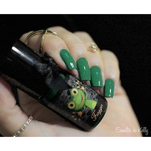 Esmaltes da Kelly- Animals- Frogger