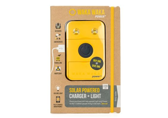 Solar Lights & Chargers | WakaWaka $79 for 'power' (& lite) to chg cell phones > include in 'glamping' & survivalist InaBox pkgs