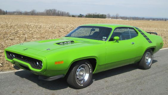 1971 Plymouth Road Runner In Sassy Grass Green With 440 Super Commando 6 Bbl