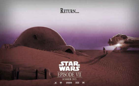 Star Wars Episode VII Fan art movie Poster by HanSagan