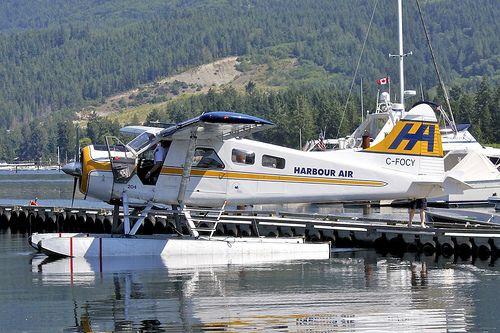 Harbour Air C-FOCY De Havilland Canada DHC-2 Mk.1 79 YHS Sechelt Porpoise Bay 2012