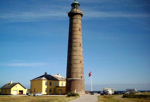Городской маяк города Скаген, Дания