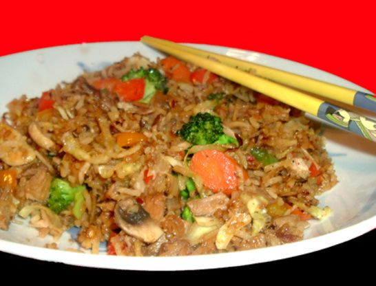 Pork Fried Rice Recipe - Chinese.Food.com