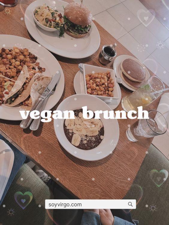 vegan brunch vegan burger and food   soyvirgo.com