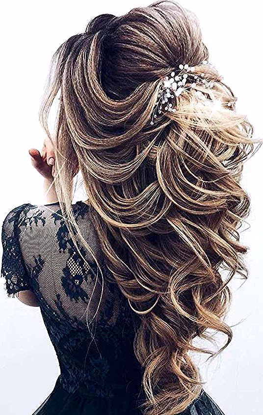 What S The Difference Between Real Human Hair And Synthetic Hair Extensions In 2020 Lange Haare Hochzeit Echthaar Extensions Haar Styling