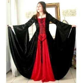Gothic plus size wedding dresses weddingy pinterest for Plus size gothic wedding dress