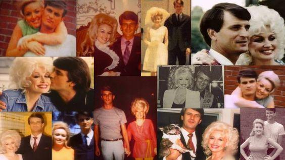 Dolly Parton with husband Carl Thomas Dean