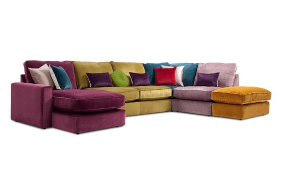 Multi Coloured Corner Sofa Images 23 Of