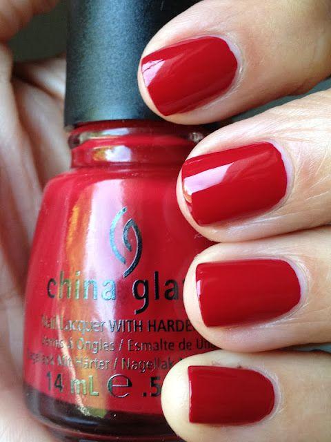 China Glaze Adventure Red-Y