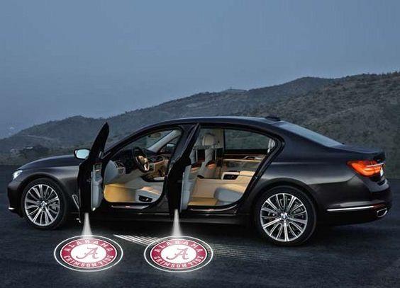 ALABAMA CRIMSON TIDE WIRELESS LED CAR DOOR PROJECTORS