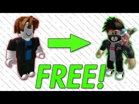 How To Make Your Roblox Avatar Cool For Free Youtube Roblox
