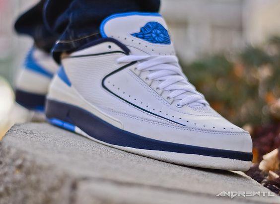 blue jordan 2s