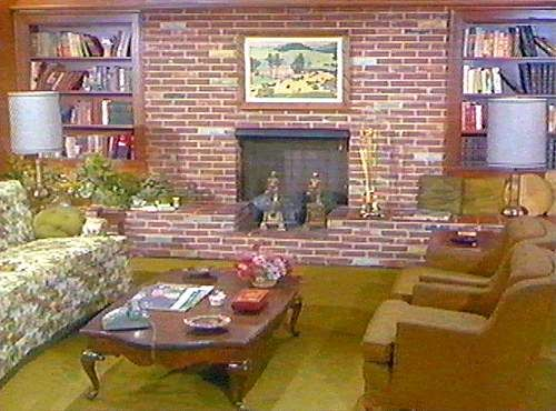 Bewitched Living Room   We Had A Fireplace/bookcase Identical To This  Growing Up   I Didnu0027t Realize It Was Just Like In Bewitched. Cool! Part 46